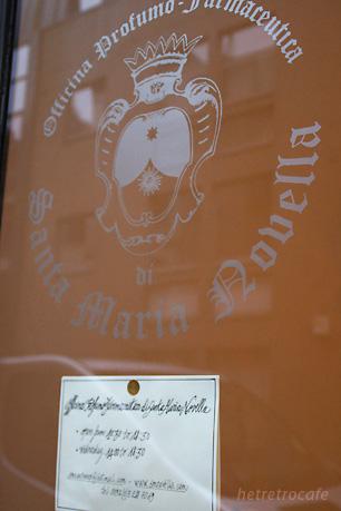 行きたかったお店 Santa Maria Novella