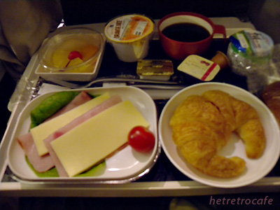 Air France 朝食