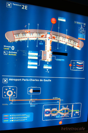 CDG内案内図