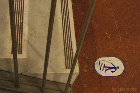 階段の注意 ピクト