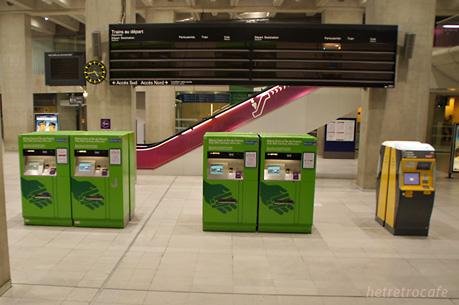 RER 券売機