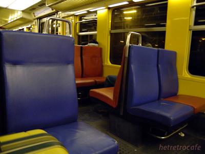 RERの車内