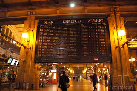 国際列車 時刻表案内