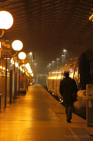 パリ北駅 旅情ある景色