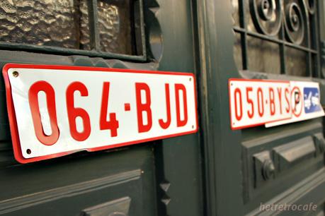 belfortstraatのドア