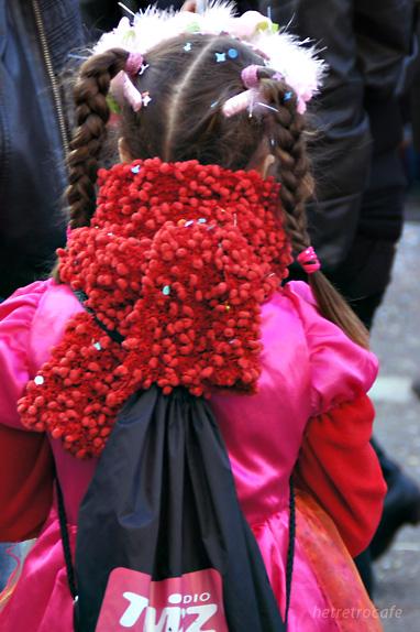 ジルのパレード 沿道の仮装