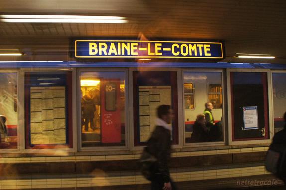 ブリュッセルまでの間の駅