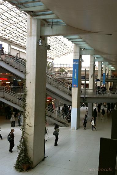 パリ北駅構内
