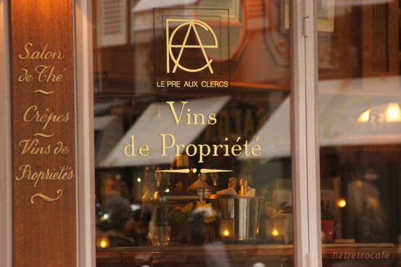 ラデュレ向かいのレストラン 2