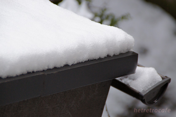 つもった雪