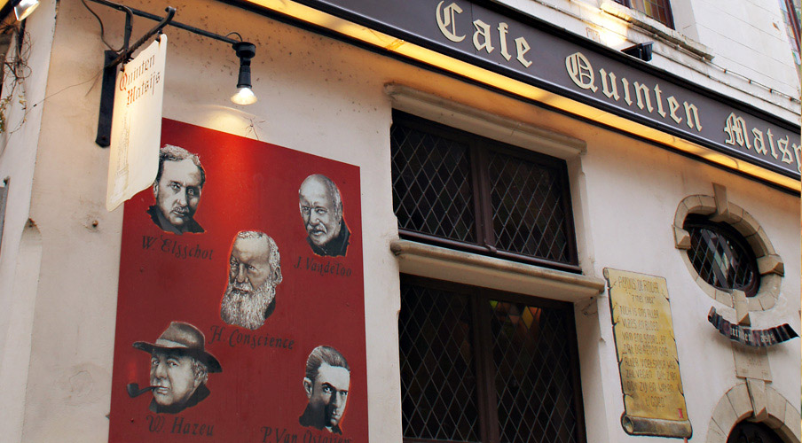 The most historic cafe in antwerp